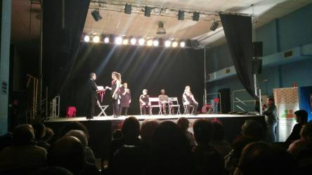 Espectáculo de teatro del oprimid@ I